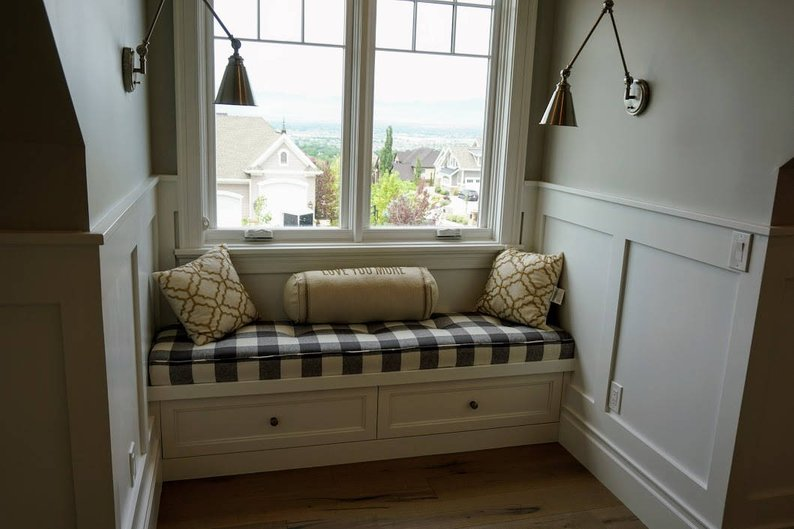 Bench Seat Cushions Custom Made Example